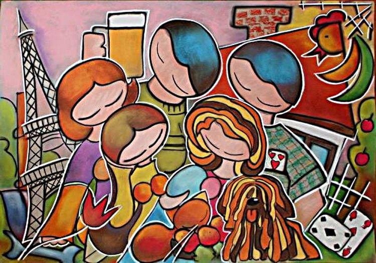 Vibók Ildi festményei