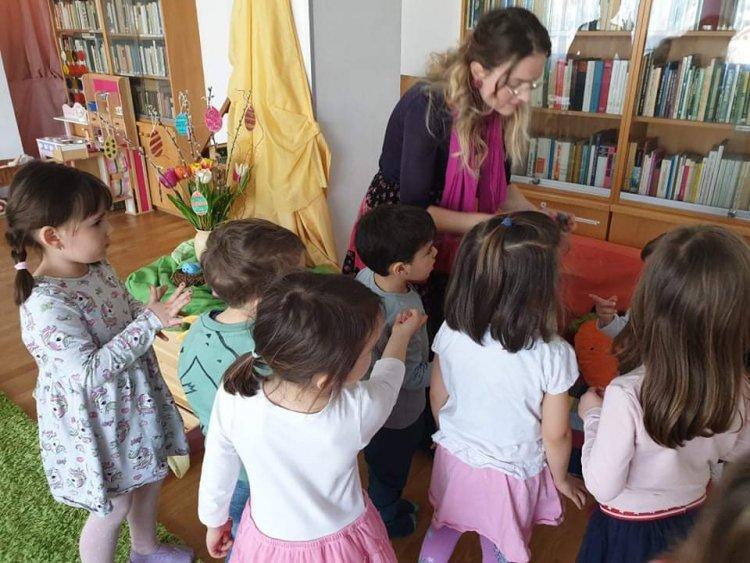 Húsvétra készültek Bécsben a magyar ovodások