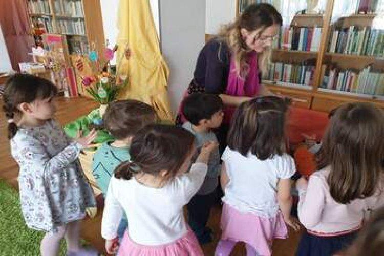 Húsvétra készültek Bécsben a magyar óvodások